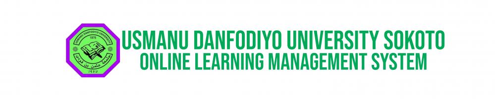Usmanu Danfodiyo University, Learning Management System